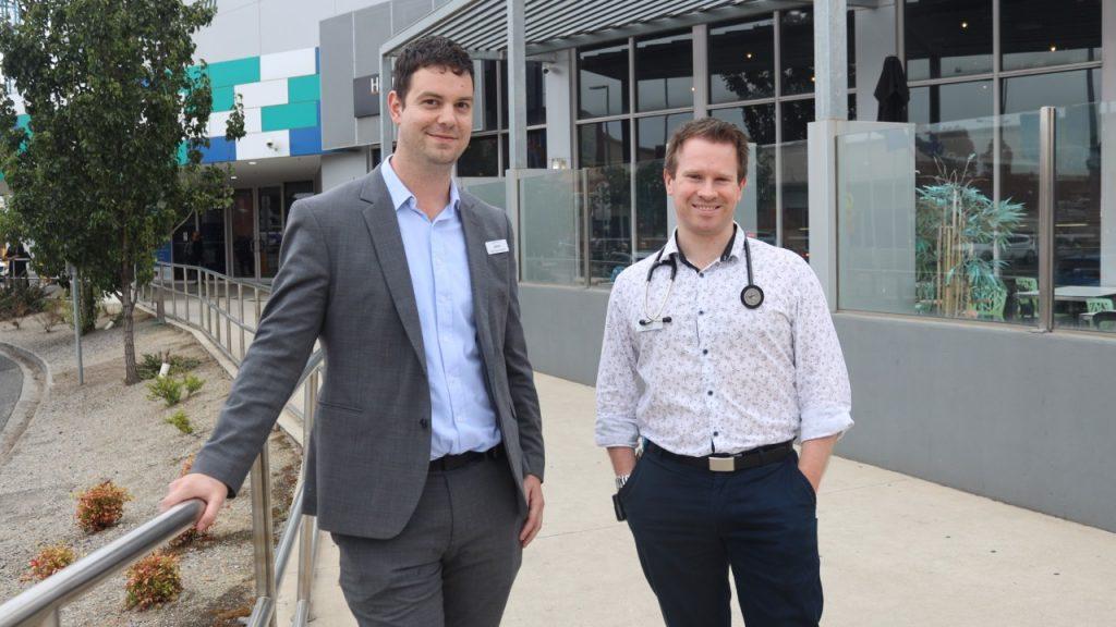 Jason Amos and Dr Anthony Sutherland
