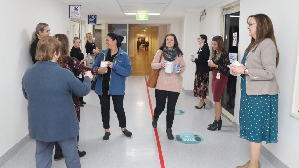 Nurses greeted at Northern Hospital